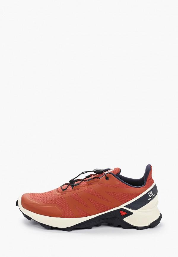 мужские кроссовки salomon, коричневые