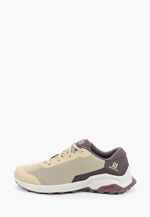 мужские низкие кроссовки salomon, бежевые