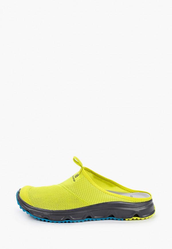 мужские сандалии salomon, желтые