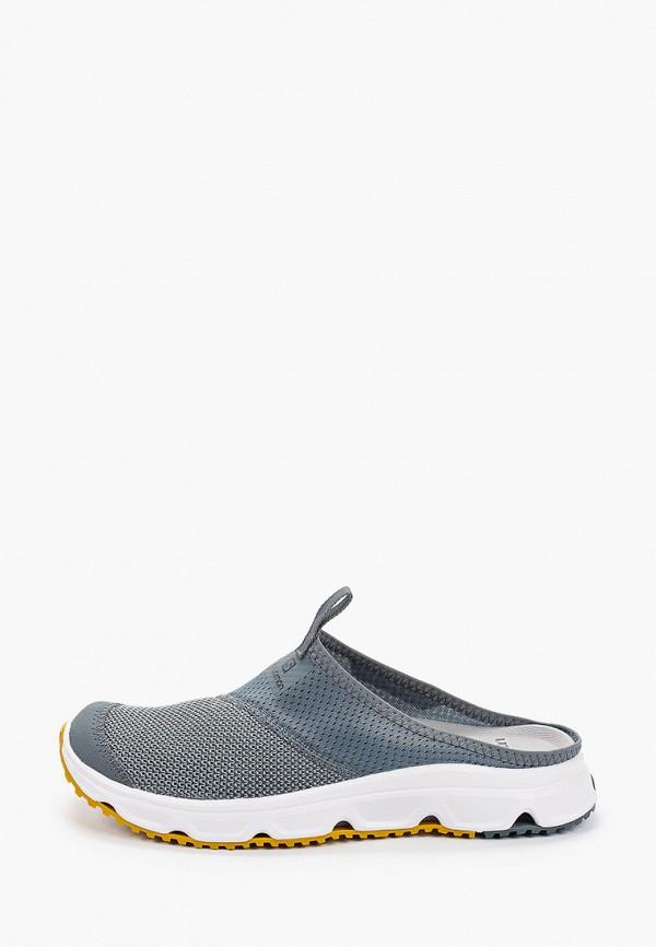 мужские сандалии salomon, серые