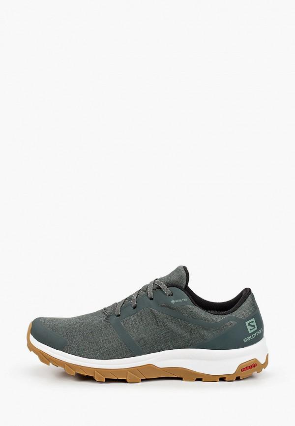 мужские кроссовки salomon, зеленые