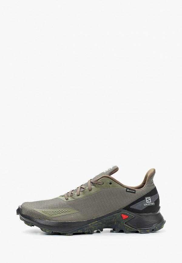 мужские низкие кроссовки salomon, хаки
