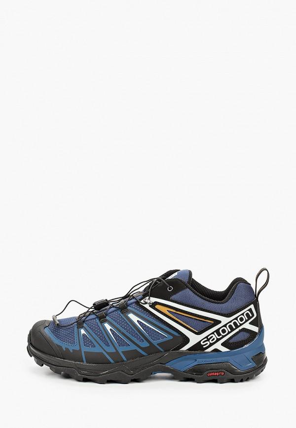 мужские кроссовки salomon, синие