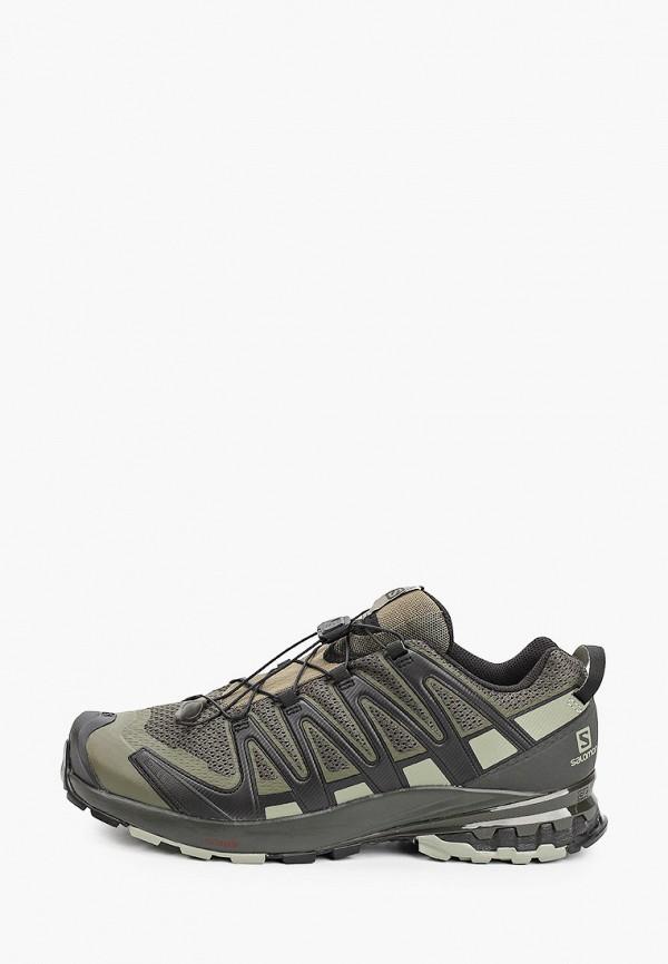 мужские кроссовки salomon, хаки