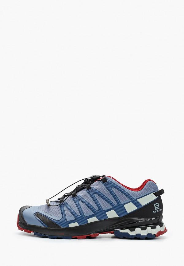 мужские кроссовки salomon, голубые