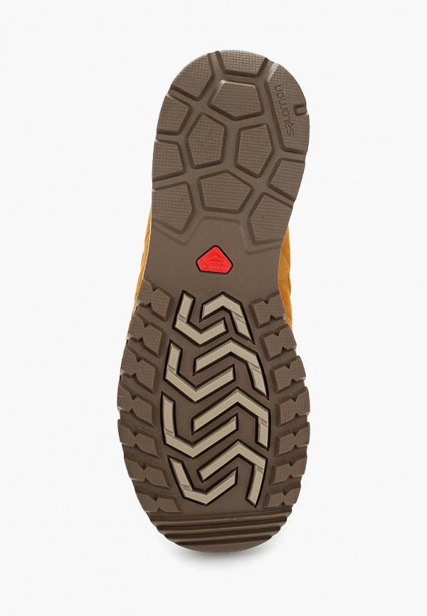 Фото 3 - мужские ботинки и полуботинки Salomon коричневого цвета