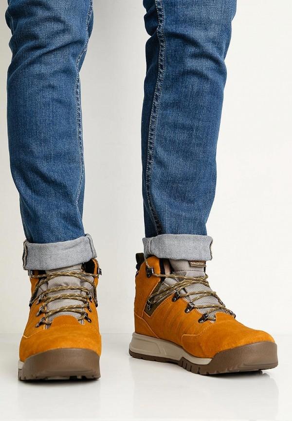 Фото 5 - мужские ботинки и полуботинки Salomon коричневого цвета