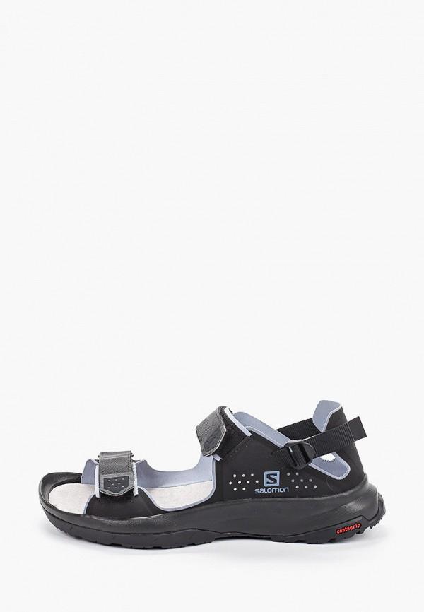 женские сандалии salomon, черные