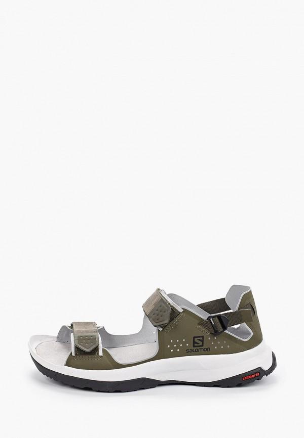 женские сандалии salomon, хаки