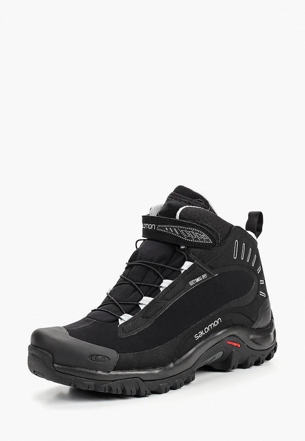 Купить Ботинки Salomon, DEEMAX 3 TS WP W, SA007AWBOMJ5, черный, Осень-зима 2018/2019