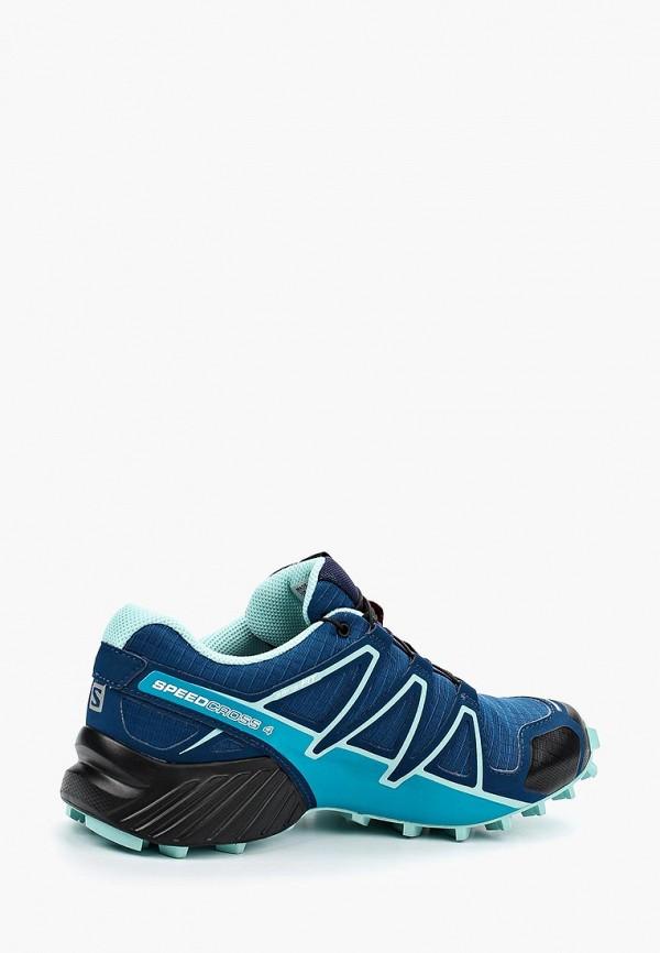 Фото 2 - женские кроссовки Salomon синего цвета