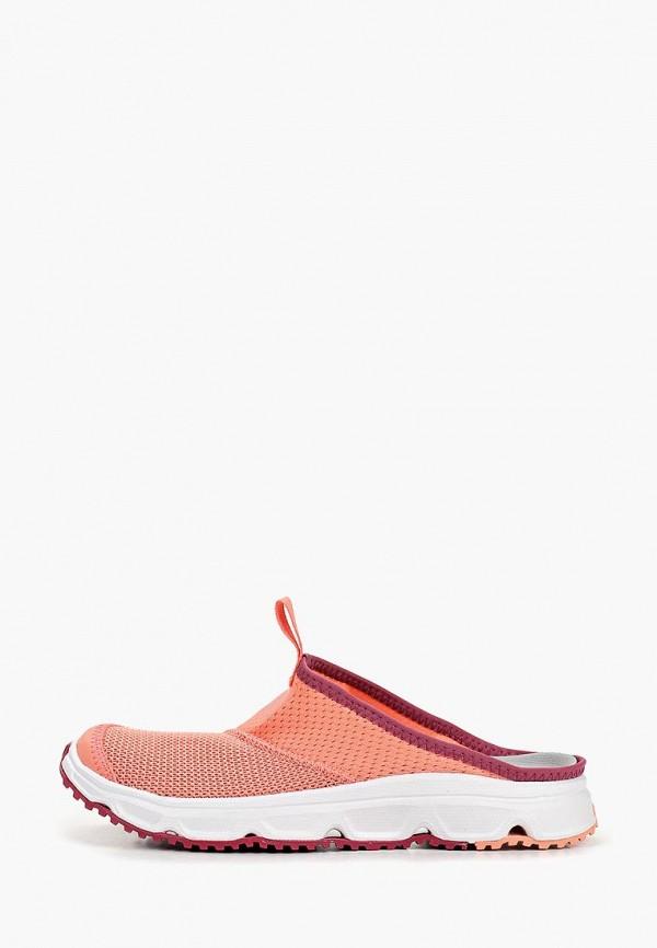 Купить Сабо Salomon, RX SLIDE 4.0 W, sa007awdsnp9, розовый, Весна-лето 2019