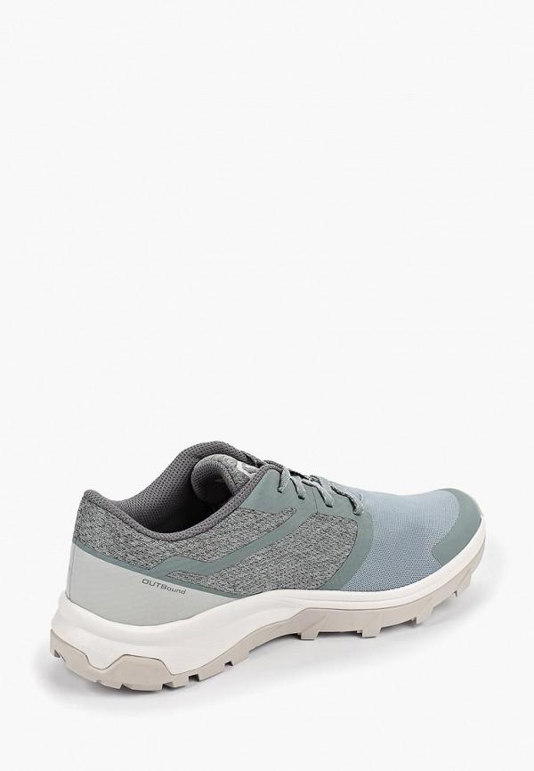 Фото 3 - Женские кроссовки Salomon зеленого цвета