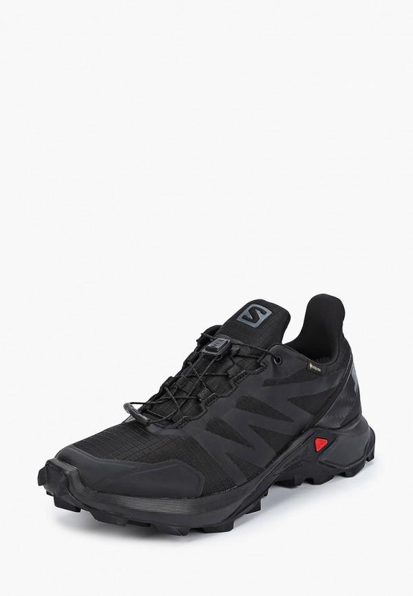 Фото 2 - женские кроссовки Salomon черного цвета