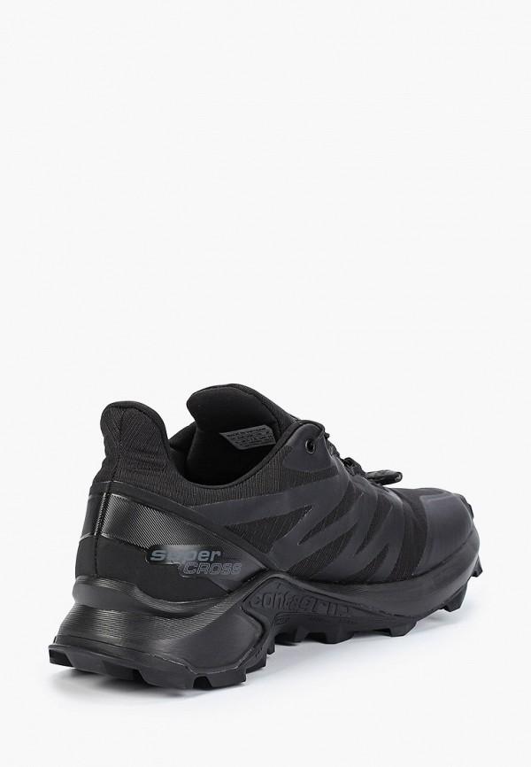 Фото 3 - женские кроссовки Salomon черного цвета