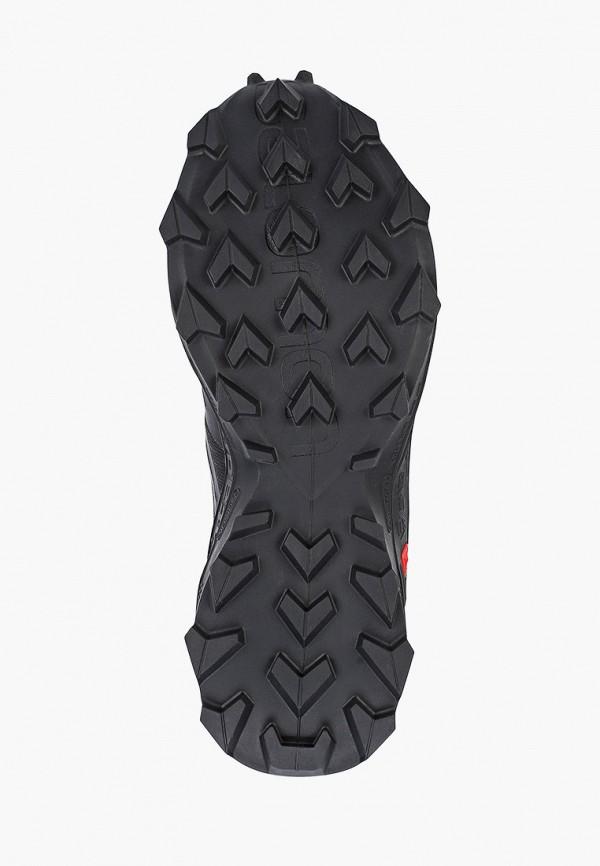 Фото 5 - женские кроссовки Salomon черного цвета