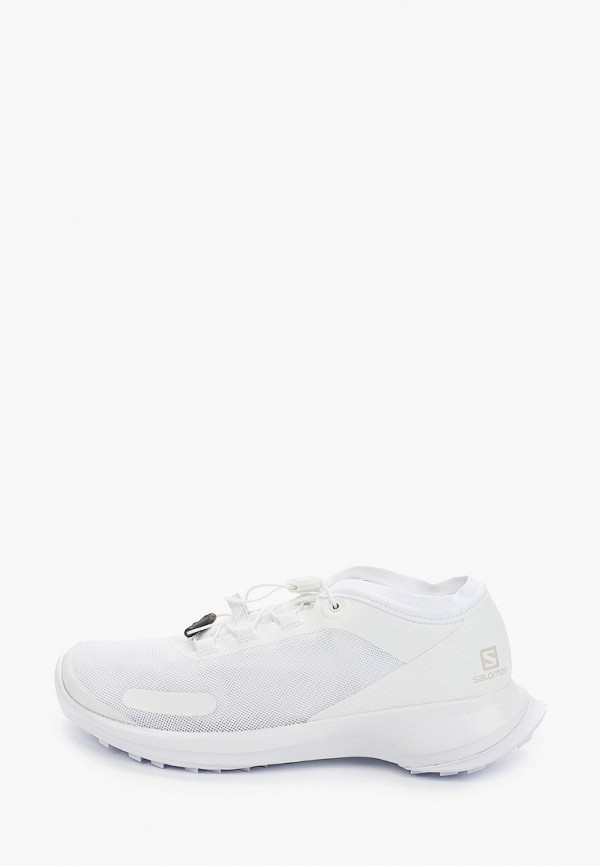 женские низкие кроссовки salomon, белые