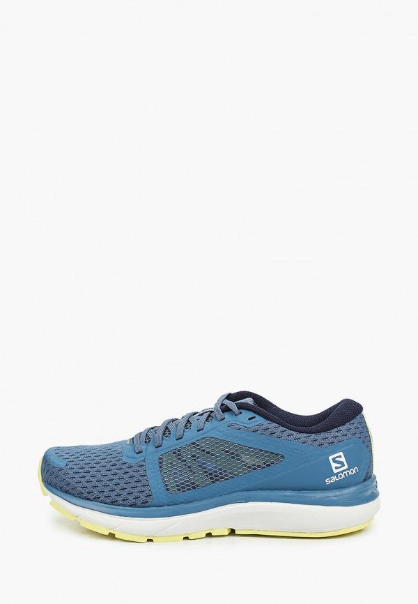 женские кроссовки salomon, синие