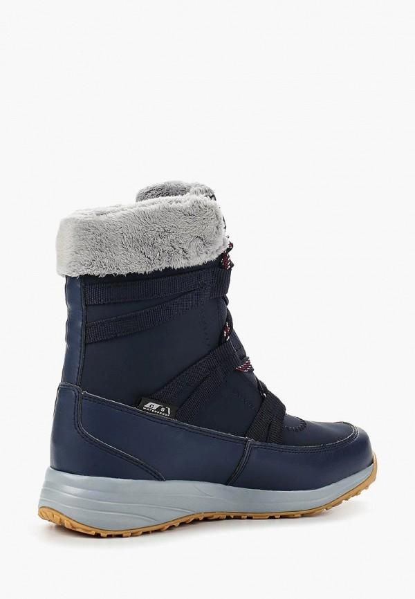 Фото 2 - женские ботинки и полуботинки Salomon синего цвета