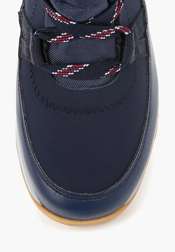 Фото 4 - женские ботинки и полуботинки Salomon синего цвета
