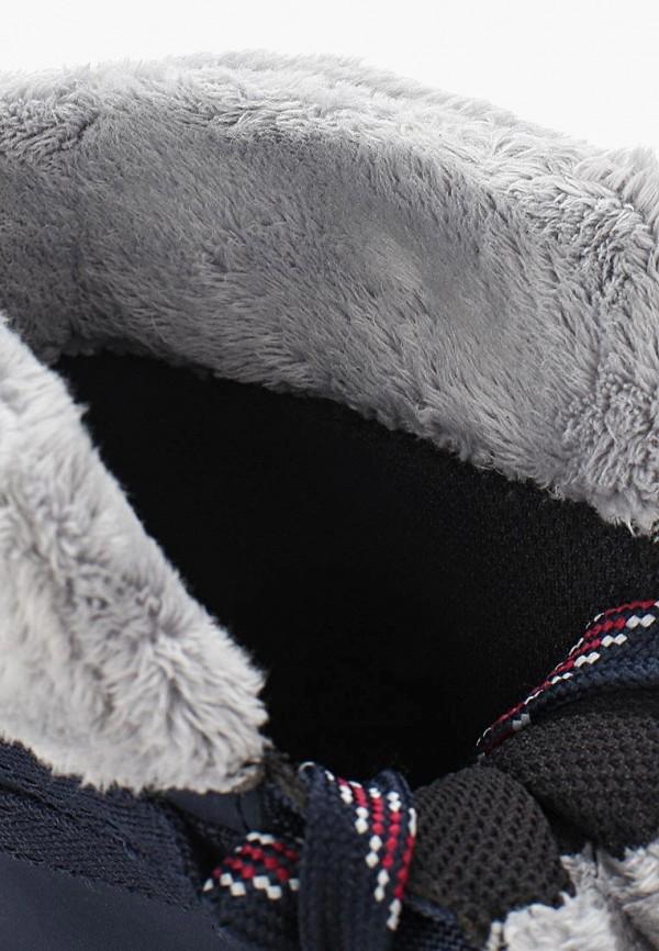 Фото 5 - женские ботинки и полуботинки Salomon синего цвета