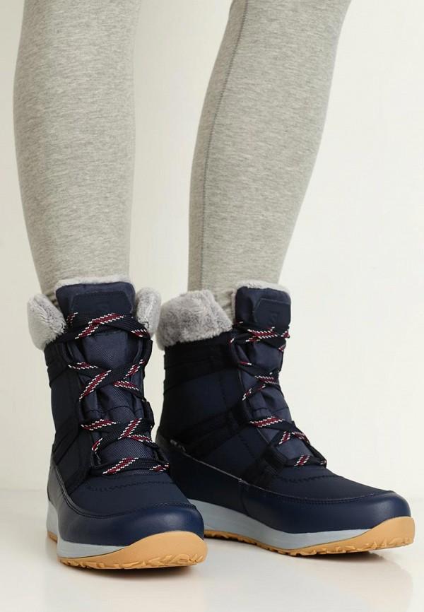 Фото 6 - женские ботинки и полуботинки Salomon синего цвета