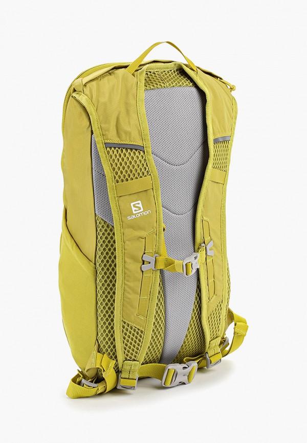 Фото 2 - мужской рюкзак Salomon желтого цвета