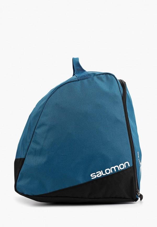 женская сумка salomon, синяя