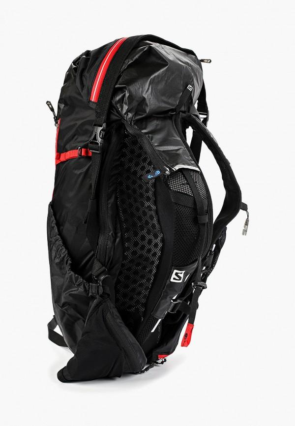 Фото 2 - Женский рюкзак Salomon черного цвета