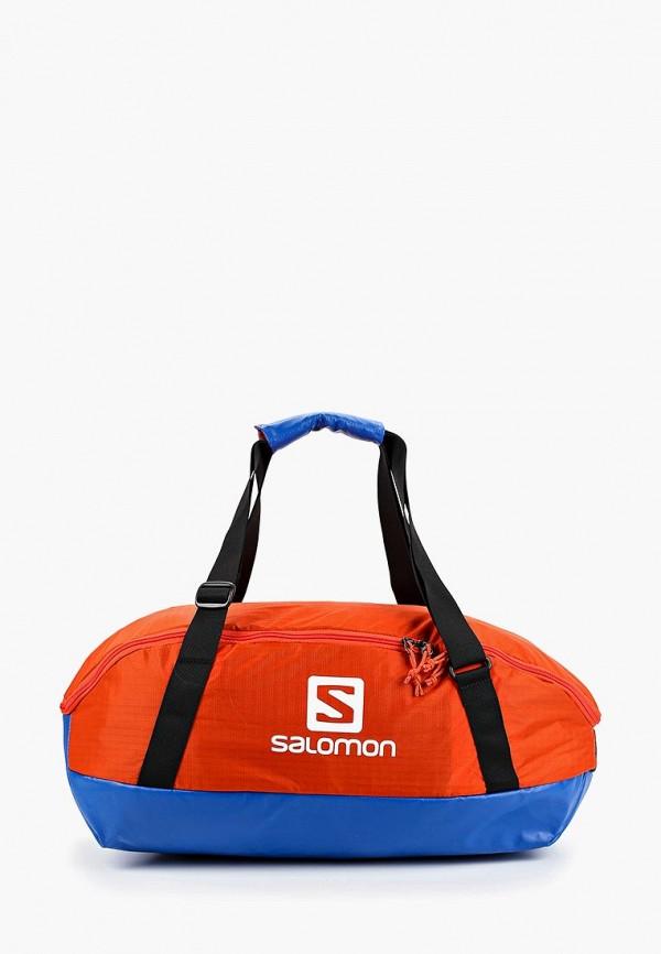 женская сумка salomon, оранжевая