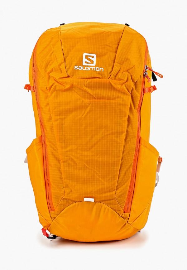 женский рюкзак salomon, оранжевый