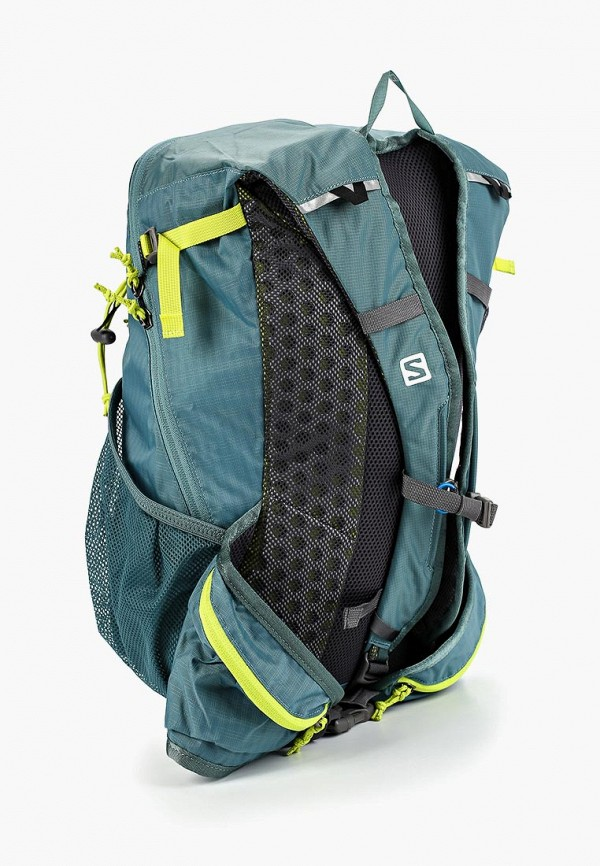 Фото 2 - Женский рюкзак Salomon зеленого цвета