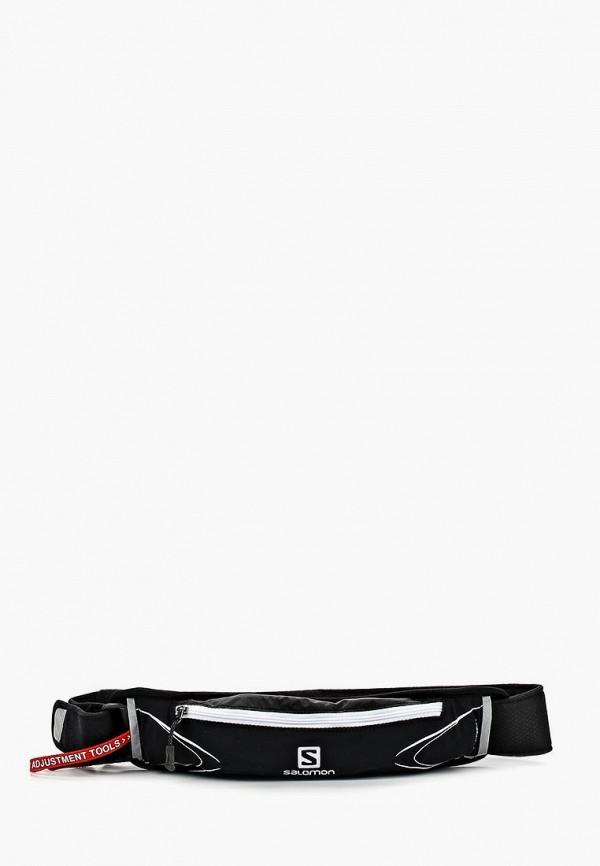 мужская сумка salomon, черная
