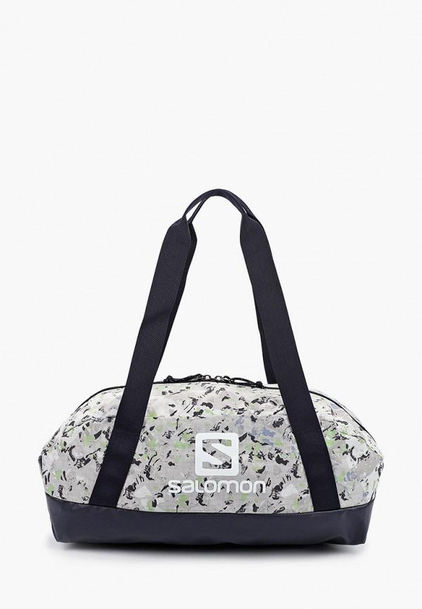 женская спортивные сумка salomon, серая