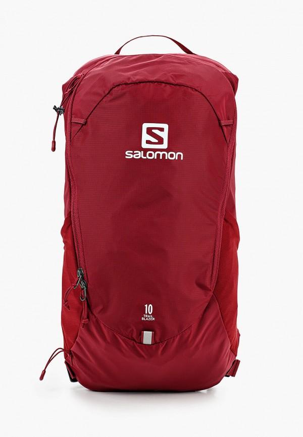 женский рюкзак salomon, красный