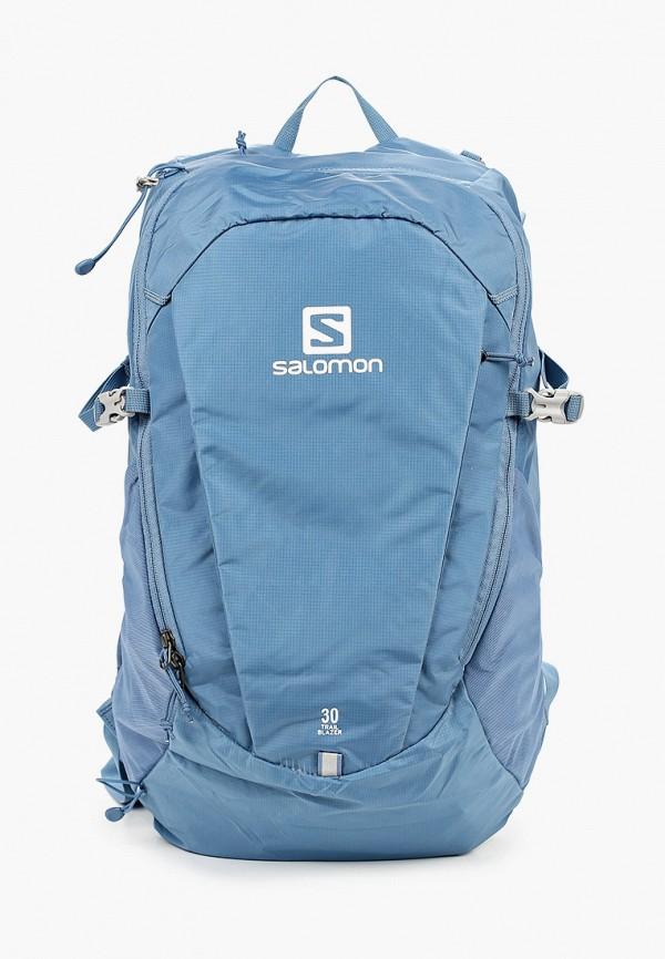 женский рюкзак salomon, голубой