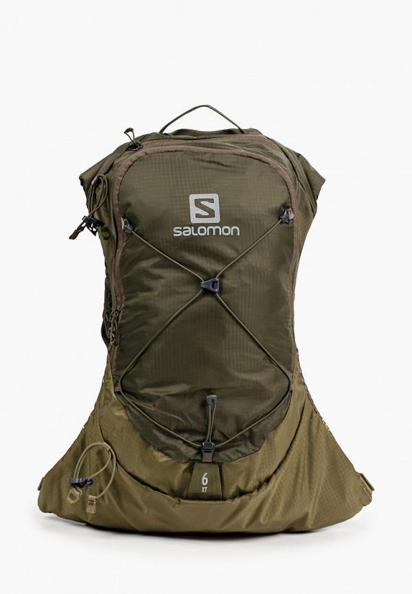 женский рюкзак salomon, хаки