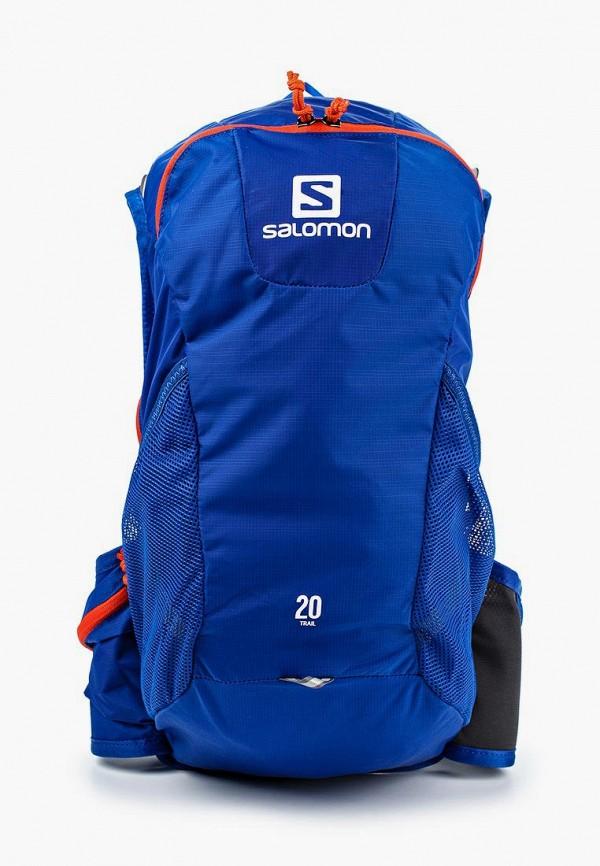 женский рюкзак salomon, синий