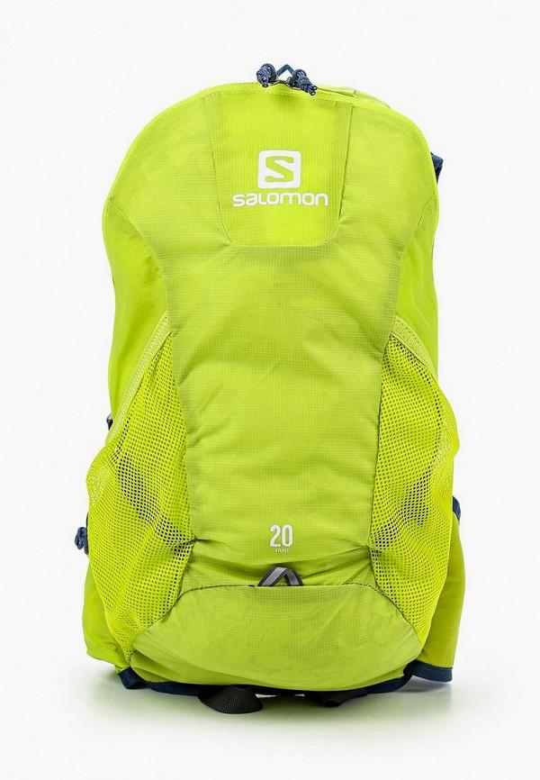 женский рюкзак salomon, зеленый