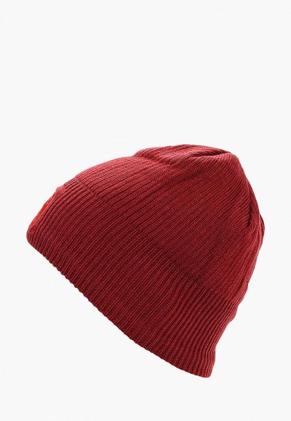 Купить Шапка Salomon, LOGO BEANIE, sa007cuboif6, красный, Осень-зима 2018/2019