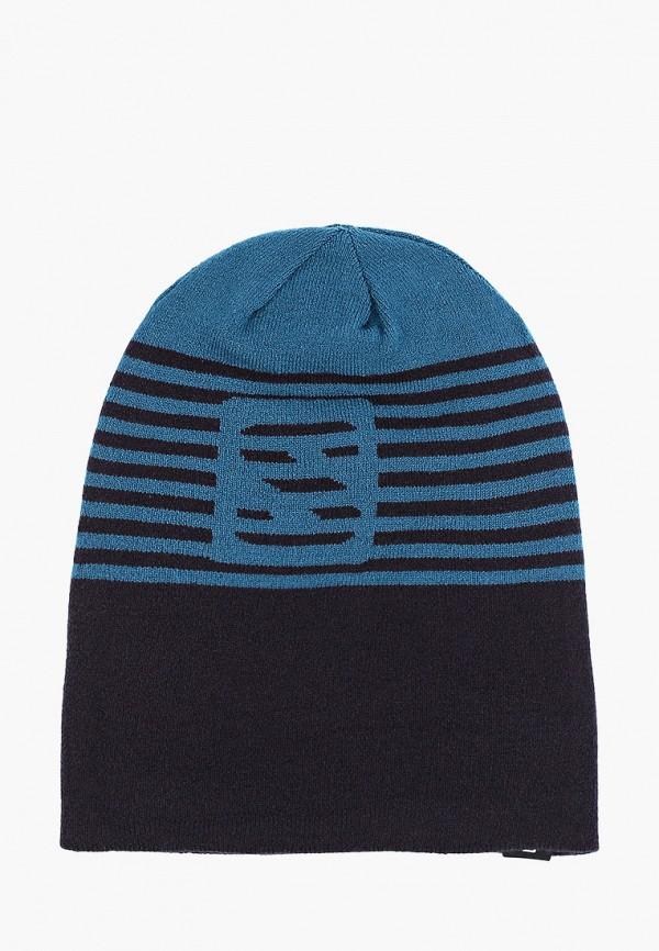 женская шапка salomon, синяя
