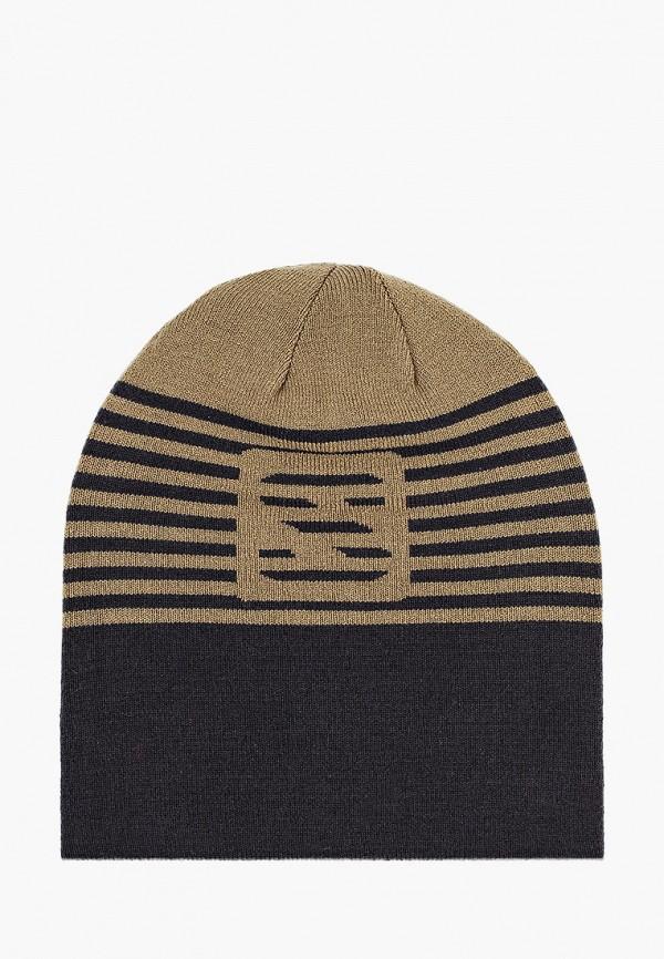 женская шапка salomon, разноцветная