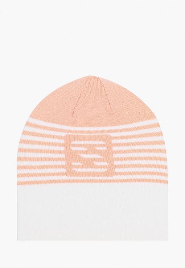 женская шапка salomon, белая
