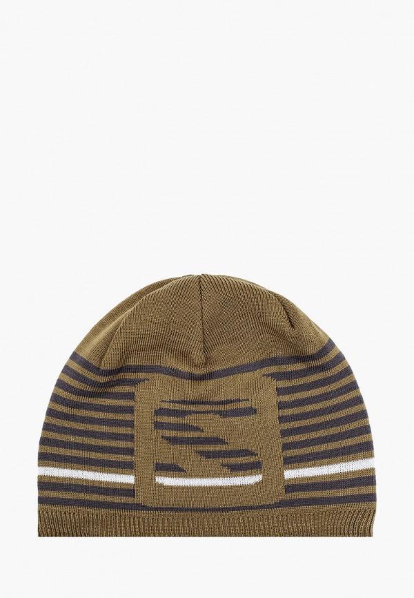 женская шапка salomon, хаки