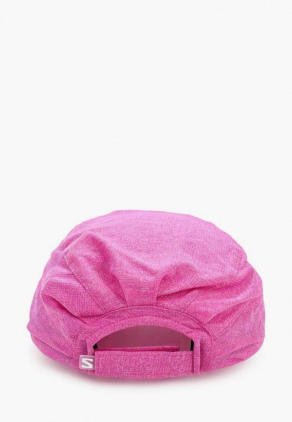 Фото 2 - Бейсболка Salomon розового цвета