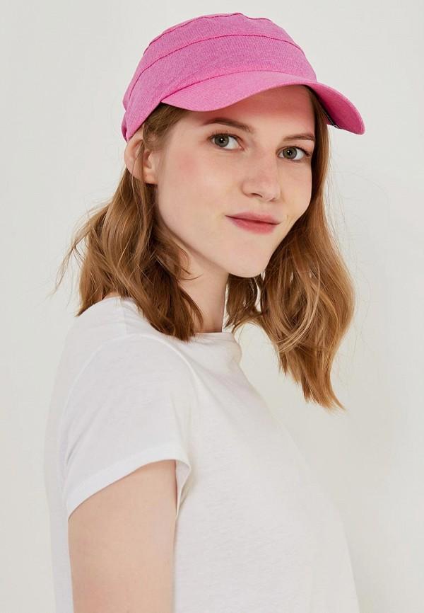 Фото 4 - Бейсболка Salomon розового цвета