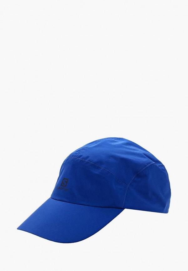 Купить Бейсболка Salomon, CAP WATERPROOF CAP, sa007cuzou01, синий, Весна-лето 2018