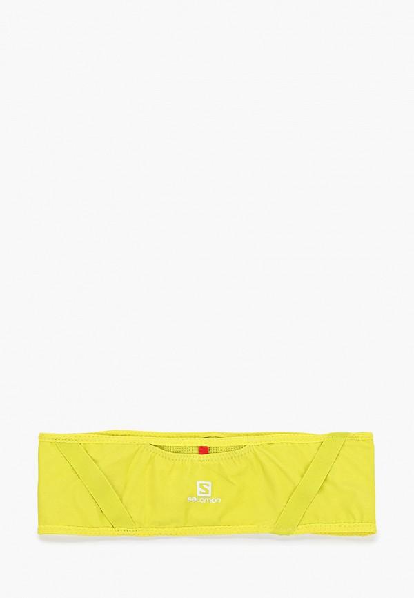 Фото - Пояс для бега Salomon желтого цвета