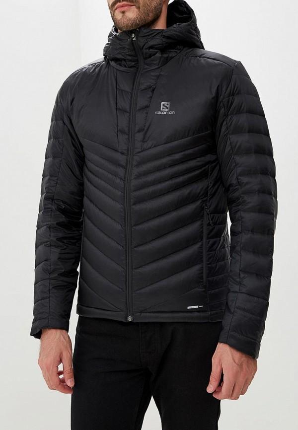 мужская куртка salomon, черная