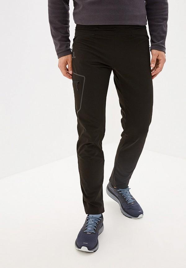 мужские спортивные спортивные брюки salomon, черные